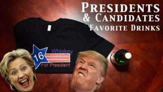 Presidential favorite drinks